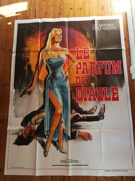 """altes Kinoplakat XXL 160 x 120 cm """"le Parfum de Diable"""""""