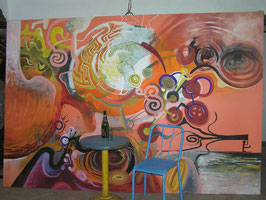 Überdimensionales Bild Acry auf Leinwand Nr 2501-02