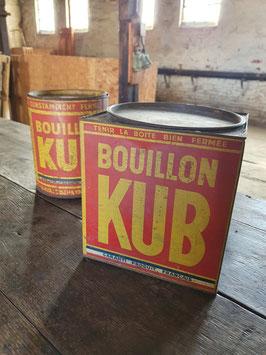 2er Set große alte Dosen KUB Bouillon Nr 1003