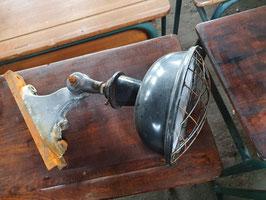 SUPERSCHÖNE alte Straßenlaterne Wandlampe Emaille klein 103