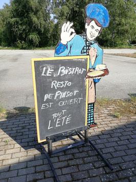 Schöner Aufsteller Schild Tafel für Restaurants etc. NR 2305