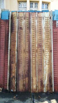 alte Fensterläden Wandverkleidung etc... Rostlook Nr 1206