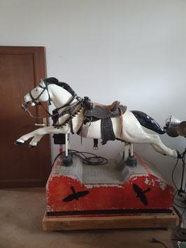 Pferd Automat Fahrgestell - große Version aus den 70er Jahren