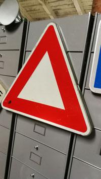 Schild aus Frankreich Verkehrsschild Metall  Nr 0810