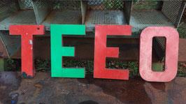 alte Buchstaben Blech 30 cm 0612-05rest