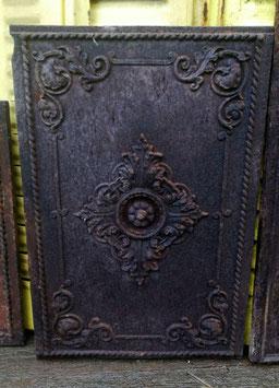 Traumhafte alte Ofenplatte aus Gusseisen Gründerzeit Nr 1203-07
