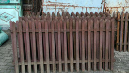 alter antiker Zaun ca 37,65 m Nr 2110