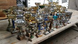 großes Konvolut alter Pokale Sammlung Sportpokal