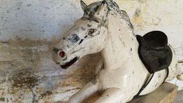 altes Pferd aus Metall (Aluguss) 170 cm Nr 0611