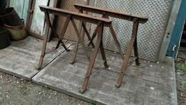 1 Paar Eisenböcke Tischgestell genietet Nr 2006