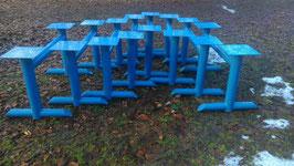 alte Industrie Tischgestelle 135 cm Nr. 2302-01sim