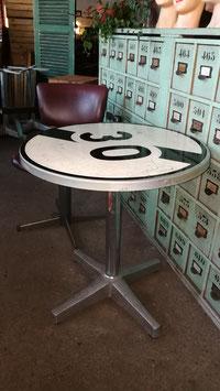 Lustiger Vintage Tisch Bistrotisch Nr 2210-30