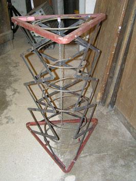 Scherentische Auszugsschere Pantographen Entladehilfen dreieckig
