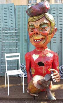 großes Parade Kostüm Karneval Fasching Figur mit Maus 200 cm