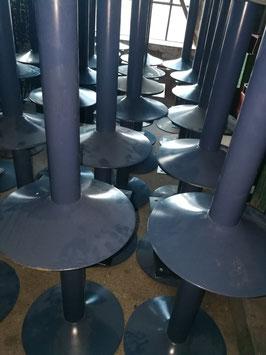 Tischgestelle für Loungetische Tischfüße blau nr sim.0101