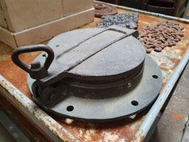 Großes Bullauge aus Messing oder Bronze Le Havre mit Deckel