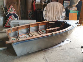 Altes Dekoboot zerlegbar Faltboot Nr 3006