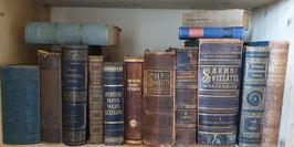 Sammlung alter Lexika antikes Lexikon diverse Wörterbücher
