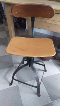 Schöner antiker Arbeitsstuhl Schreibtischstuhl Bienaise