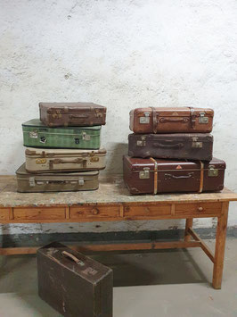 Kofferset antiker Koffer 7 Stück Nr 2906-02