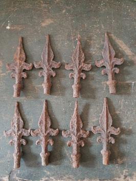 alte antike Zaunspitzen für Gründerzeit Zäune Nr 1203