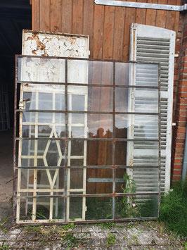 Riesiger Eisenfenster - kein Guss Sprossenfenster Nr 2707