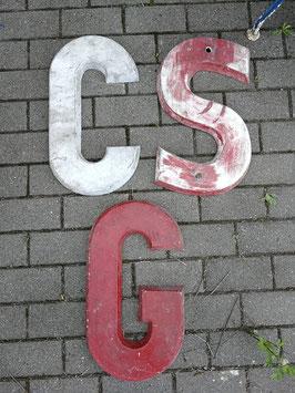 alte Buchstaben aus Stuckzemet Nr 2205G