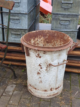 alte Mülltonne, sehr groß als Pflanztopf ideal Nr 1110