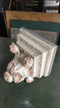 Große alte Konsole Keramik traumhaft Nr 1106