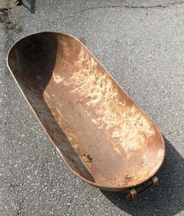 altes Becken aus Metall Eisenwanne Nr 1005