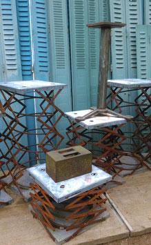 Scherentische Auszugsschere Pantographen Entladehilfen quadratisch