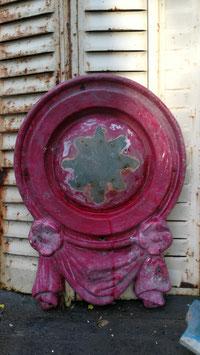 Tolle alte Form aus Fiberglas rot Nr 2910-04gi