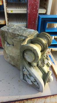 Konsole aus Steinguss Fassadenelement