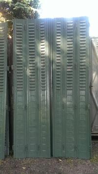 alte Metall Fensterläden Klappläden 0907
