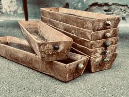 alte Brotformen 99 cm lang aus Holz Nr 1306