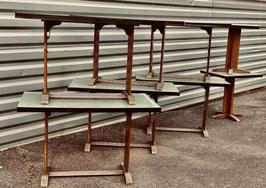 alte 60er Jahre Tische Kneipentische Kantinentische Nr 1306-08