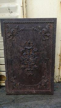 Traumhafte alte Ofenplatte aus Gusseisen Gründerzeit Nr 1203-04
