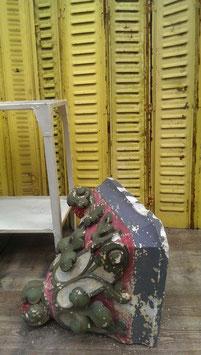 Riesige alte Gipskonsole traumhaft Nr 1105