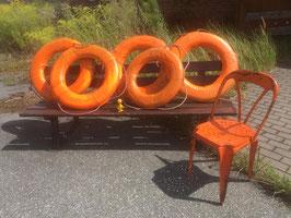 alte Rettungsringe orange VEB Nr 1308