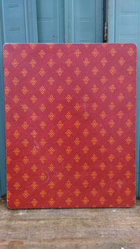 alter Vintage Bistrotisch Platten mit Muster 2103-02