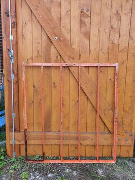 Altes Gitter Fenster Eisenfenster Rahmen Nr 2607 orange