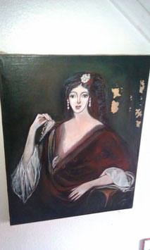 alte Ölgemälde Gemälde Bild