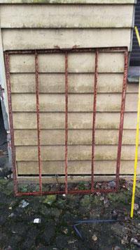 alte Eisenfenster Gitter Nr 1501-04