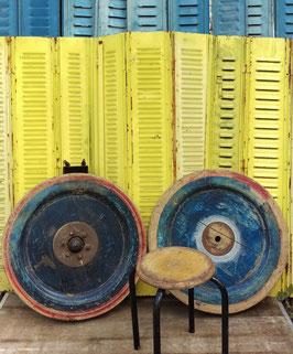 Dekorative alte Holzräder ca um 1900 Durchmesser 68 cm!!!