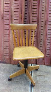alter Vintage Arbeitsstuhl Giroflex von Stoll 1959 Nr 2805