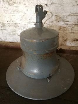 große Fabriklampe mit zwei Fassungen