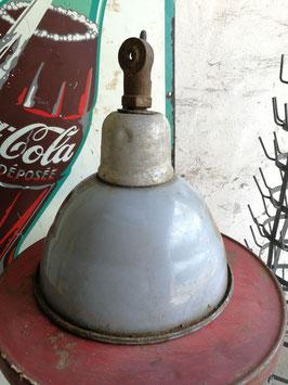 alte Fabriklampe bleu Nr 1101