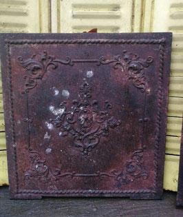 Traumhafte alte Ofenplatte aus Gusseisen Gründerzeit Nr 1203-08