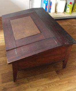 alter antiker Schreibtischaufsatz Pult zum öffnen Nr 701