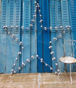 alte Weihnachtsbeleuchtung aus Frankreich Straßenbeleuchtung Nr. 1